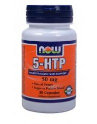 NOW 5-HTP 50MG 30 CAPS