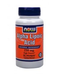 NOW ALPHA LIPOIC ACID 250MG 60 VCAPS