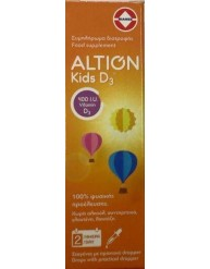 ALTION KIDS VITAMIN D3 400IU DROPS 20ML
