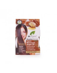 DR.ORGANIC MOROCCAN ARGAN OIL RESTORATIVE TREATMENT CONDITIONER 200ML