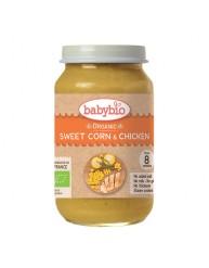 BABYBIO Γεύμα Κοτόπουλο με Λαχανικά +8μηνών (200γρ)