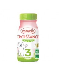 BABYBIO CROISSANCE Γάλα Ανάπτυξης (υγρή φόρμουλα) για βρέφη από 10μηνών (250ml)