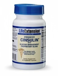 LIFE EXTENSION CINSULIN WITH GLUCOSE MANAGEMENT 90 CAPS