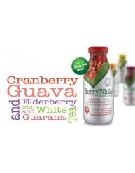 BERRY WHITE ORGANIC DRINK CRANBERRY, GUAVA & ELDERBERRY 330ML
