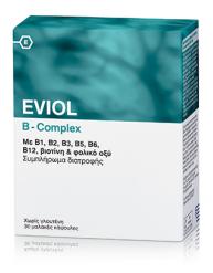 EVIOL B-COMPLEX 30 ΜΑΛΑΚΕΣ ΚΑΨΟΥΛΕΣ