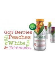 BERRY WHITE ORGANIC DRINK GOJI BERRIES WITH PEACHES 330ML