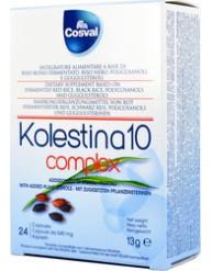 COSVAL KOLESTINA 10 COMPLEX 24 CAPSULES