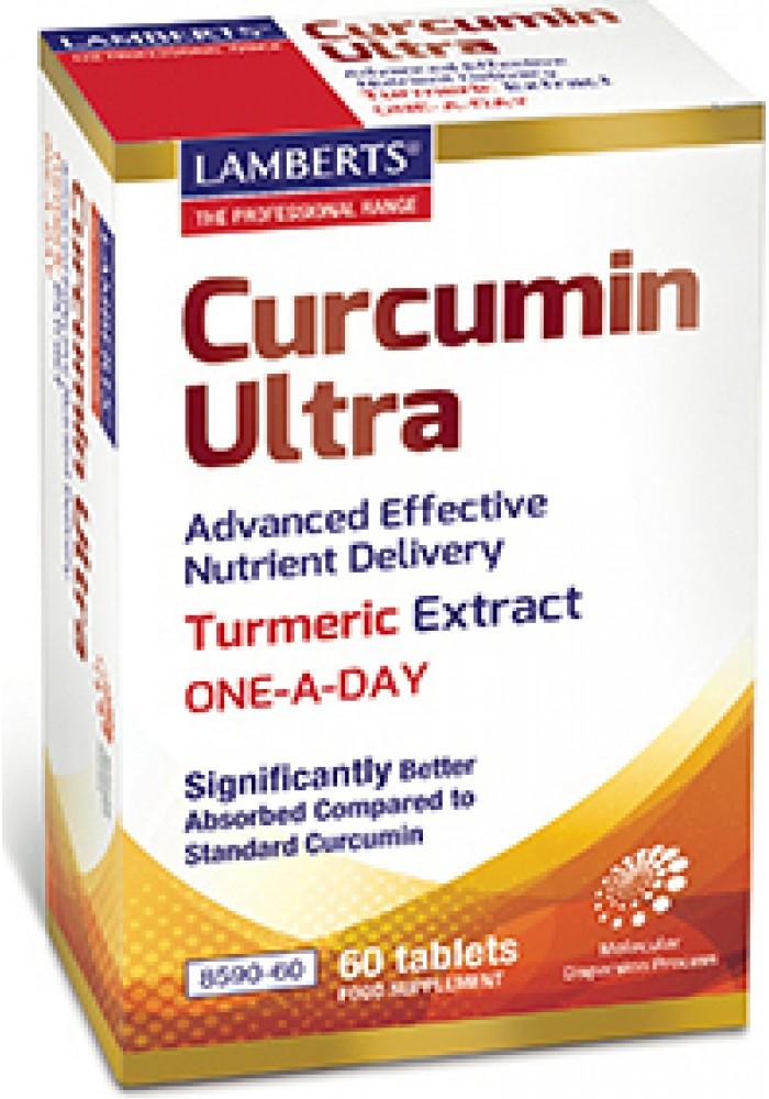 LAMBERTS CURCUMIN ULTRA 60 TABLETS