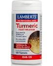 LAMBERTS TURMERIC FAST RELEASE 10000MG 120 TABLETS