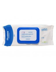 MUSTELA LINGETTES NETTOYANTES ET APAISANTES (DERMO-SOOTHING) 70 WIPES