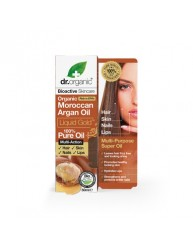 DR.ORGANIC MOROCCAN ARGAN OIL LIQUID GOLD 100% PURE OIL 50ML