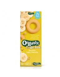 ORGANIX FINGER FOODS BANANA BABY BISCUITS 54G ΑΠΟ 7 ΜΗΝΩΝ