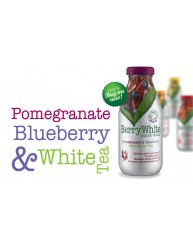 BERRY WHITE ORGANIC DRINK POMEGRANATE & BLUEBERRY 330ML