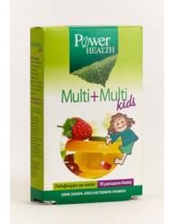 POWER HEALTH MULTI + MULTI KIDS 30 ΜΑΣΩΜΕΝΑ ΔΙΣΚΙΑ