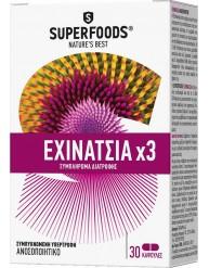 SUPERFOODS ECHINACEA X 3   30 CAPSULES
