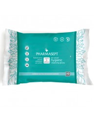 PHARMASEPT TOL VELVET HYGIENIC CLEANSING GLOVES (10 ΤΕΜΑΧΙΑ)