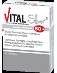 VITAL SILVER 50+ CAPS 30