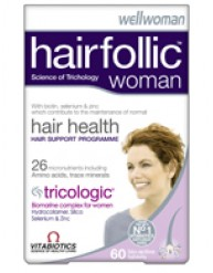VITABIOTICS HAIR FOLLIC WOMAN (TRICOLOGIC) 60 TABS