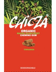 CHICZA ORGANIC MAYAN RAINFOREST CHEWING GUM CINNAMON