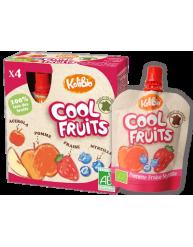 VITABIO COOL FRUITS Επιδόρπιο Φρούτων Μήλο, Φράουλα, Μύρτιλλο & Ασερόλα +3χρονών 90γρ
