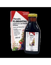 POWER HEALTH SALUS FLORADIX LIQUID IRON FORMULA 250ml