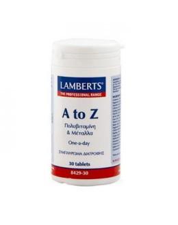 LAMBERTS A-Z MULTIVITAMINS 30tabs